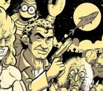 La copertina del libro Dizionario dei film brutti a fumetti