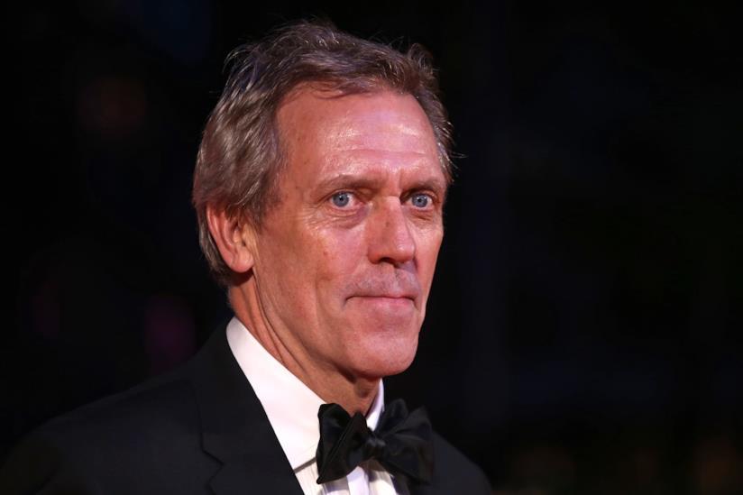 Un primo piano di Hugh Laurie