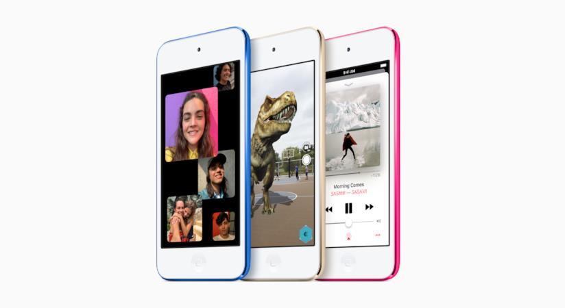 Immagine stampa dell'iPod touch di settima generazione