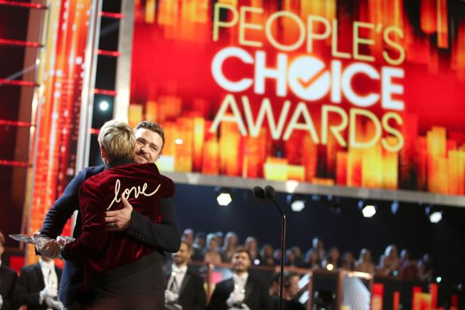 Ellen DeGeneres ai People's Choice Awards 2017