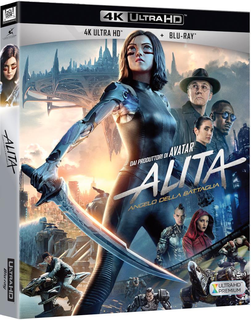 Packshot di Alita – Angelo della battaglia in BD e BD 4K UHD