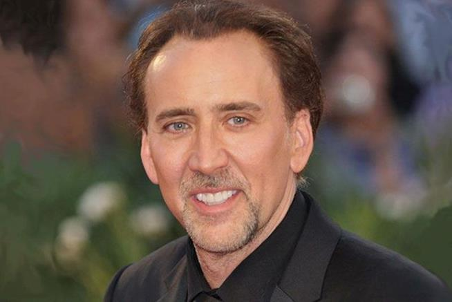 L'attore americano Nicolas Cage