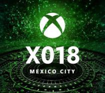 Il logo della FanFest X018 di Microsoft
