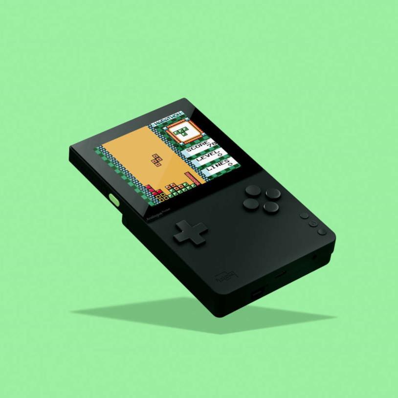 Analogue Pocket consente di giocare i vecchi giochi in alta risoluzione