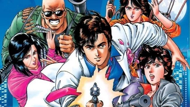 I protagonisti di City Hunter