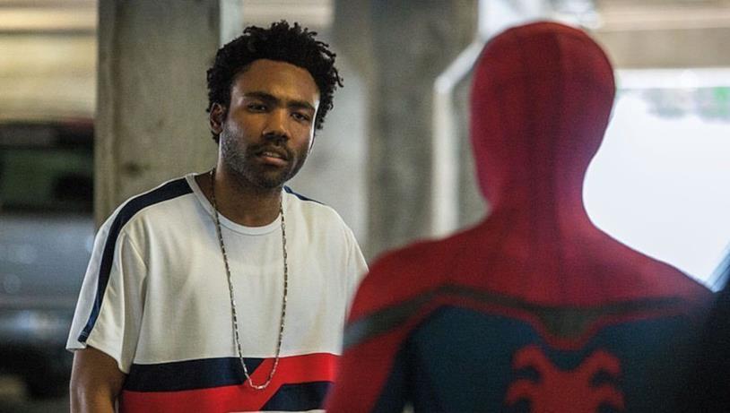Aaron Davis (Donald Glover) in una scena di Spider-Man: Homecoming