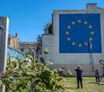 Murale dedicato alla Brexit di Banksy