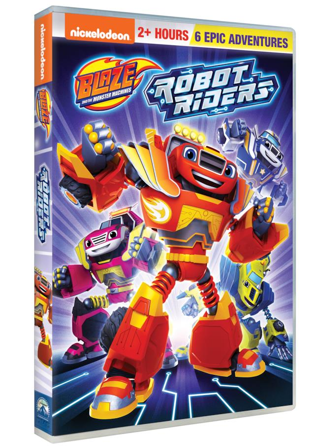 Blaze e le mega macchine: Robot riders - Home Video - DVD