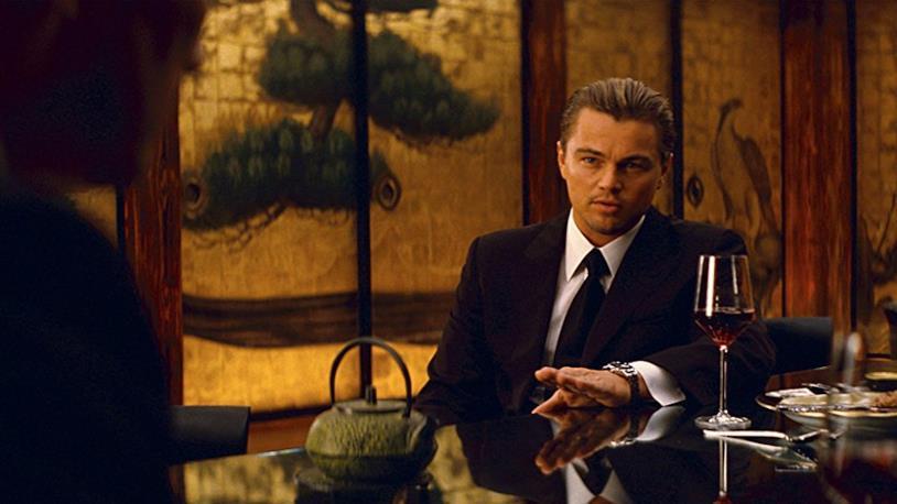 Leonardo DiCaprio, protaognista di Inception
