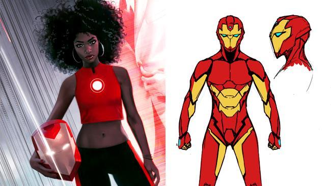 Riri Williams, il nuovo Iron Man dei fumetti