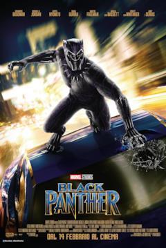 Il poster italiano di Black Panther