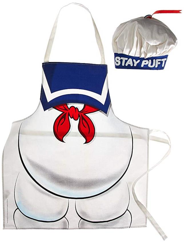 Il grembiule per cucinare dello Stay Puft