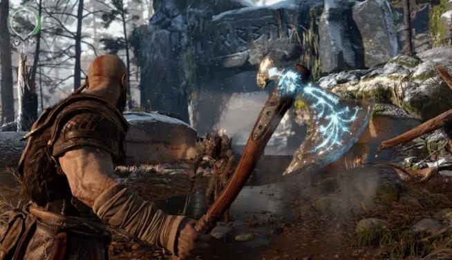 Prime immagini del nuovo God of War
