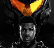 John Boyega e il suo Jaeger