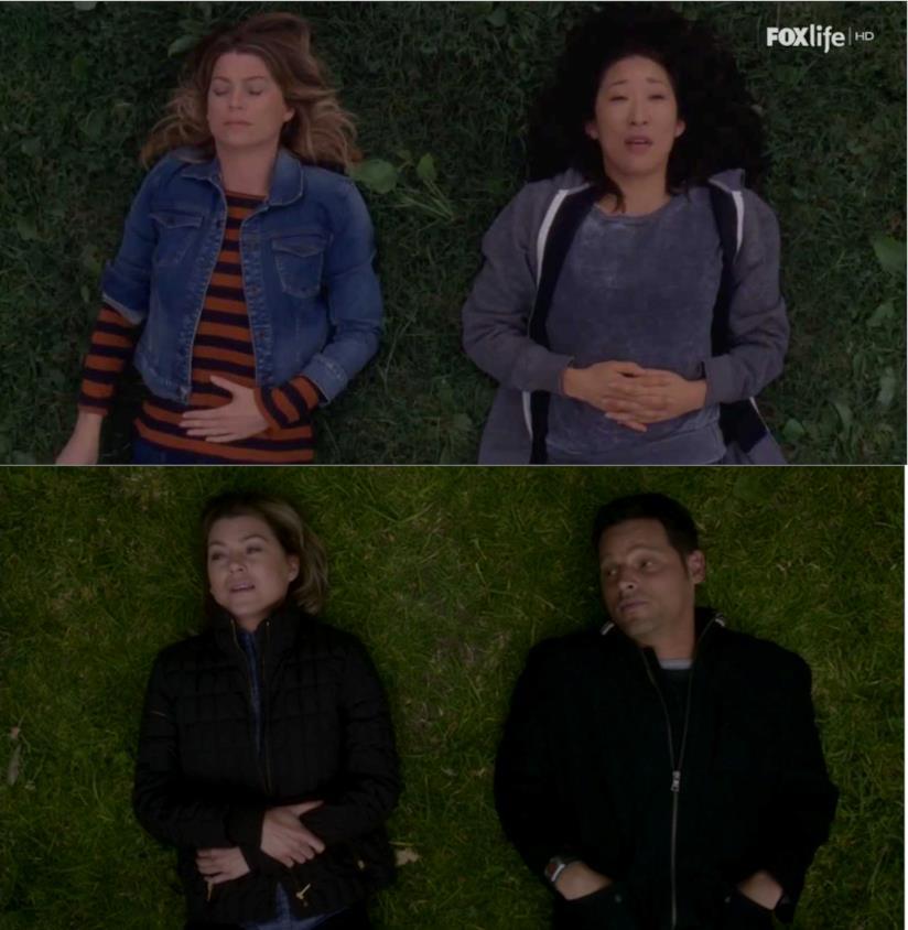 Un confronto tra Meredith e le seu due persone