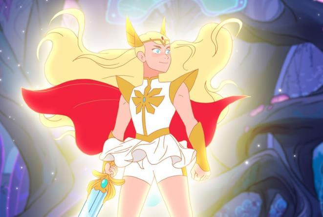She-Ra disegnata nel nuovo stile
