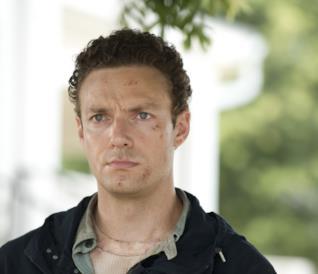 L'attore Ross Marquand, interprete di Aaron di The Walking Dead