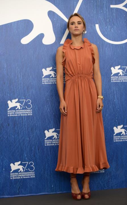 Suki Waterhouse alla conferenza stampa di The Bad Batch alla Mostra del Cinema di Venezia 73