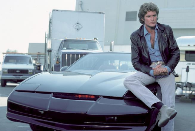 Supercar: David Hasselhoff