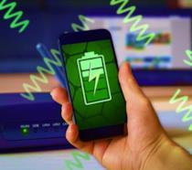 """Un'immagine che mostra come l'energia dei segnali Wi-Fi possa essere """"riciclata"""""""