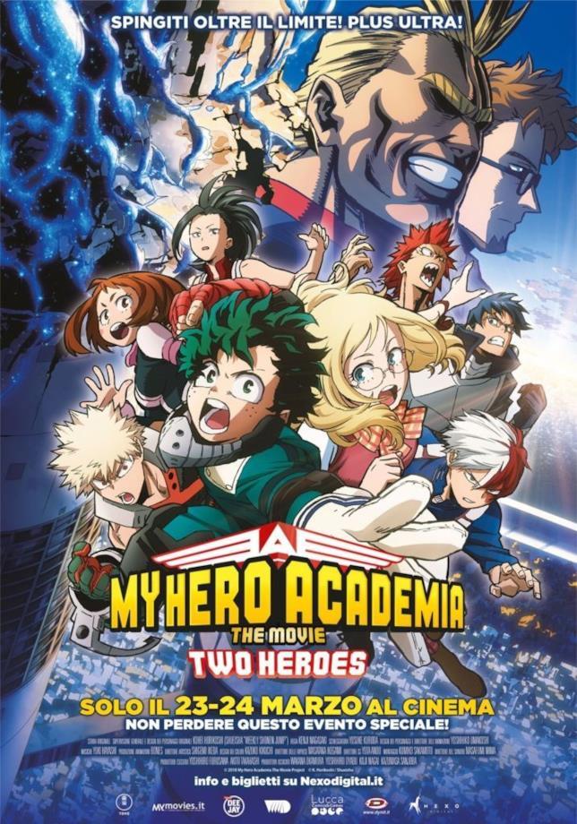 My Hero Academia cover film