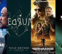I poster di Gemini Man, Doctor Sleep, Terminator - Destino oscuro, Joker