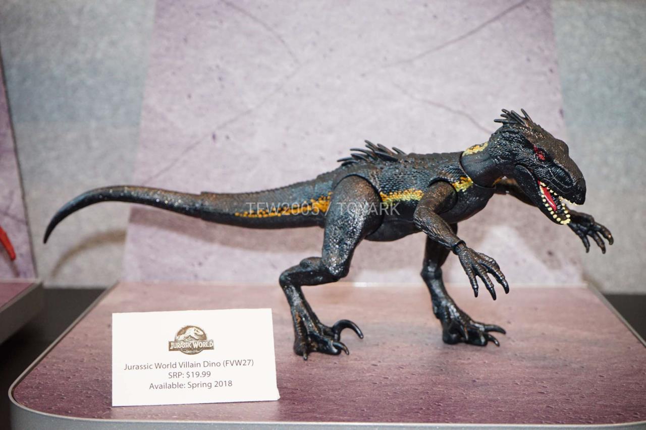 Un primo sguardo all'Indoraptor dalla Toy Fair 2018