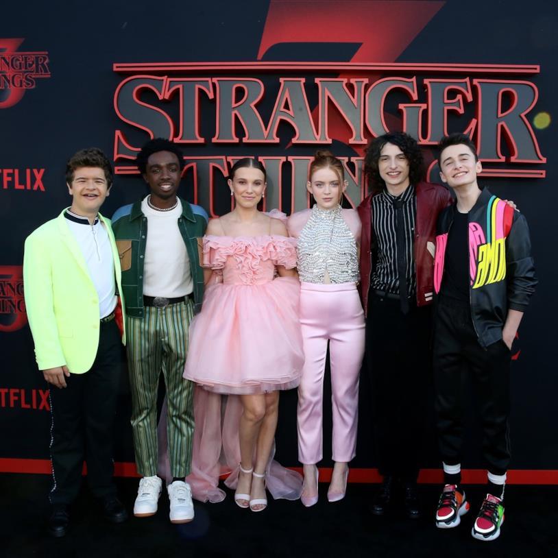 Il cast di giovani attori di Stranger Things 3