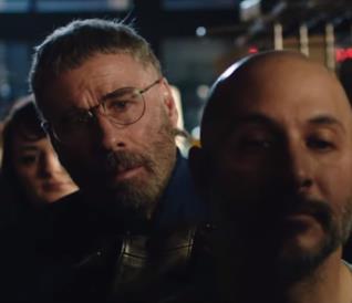 John Travolta in una scena di The Fanatic