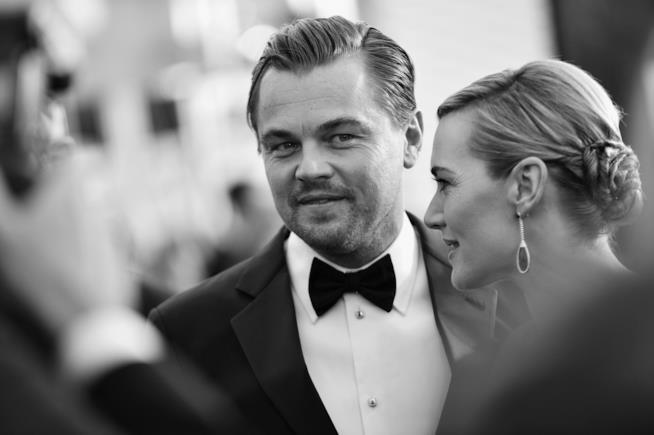 Leonardo DiCaprio e Kate Winslet alla cerimonia dei SAG Awards 2016