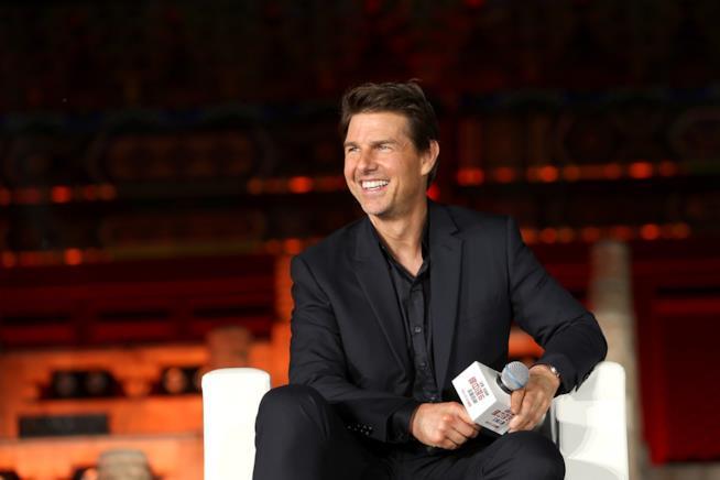 Tom Cruise durante il tour promozionale di Mission: Impossible - Fallout