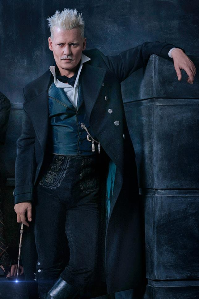 Johnny Depp in Animali Fantastici 2
