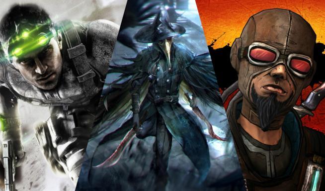 Gli eroi di Splinter Cell, Bloodborne e Borderlands