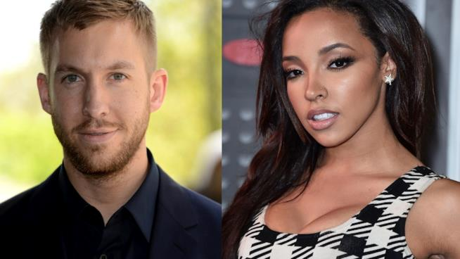 Primo piano di Calvin Harris e Tinashe