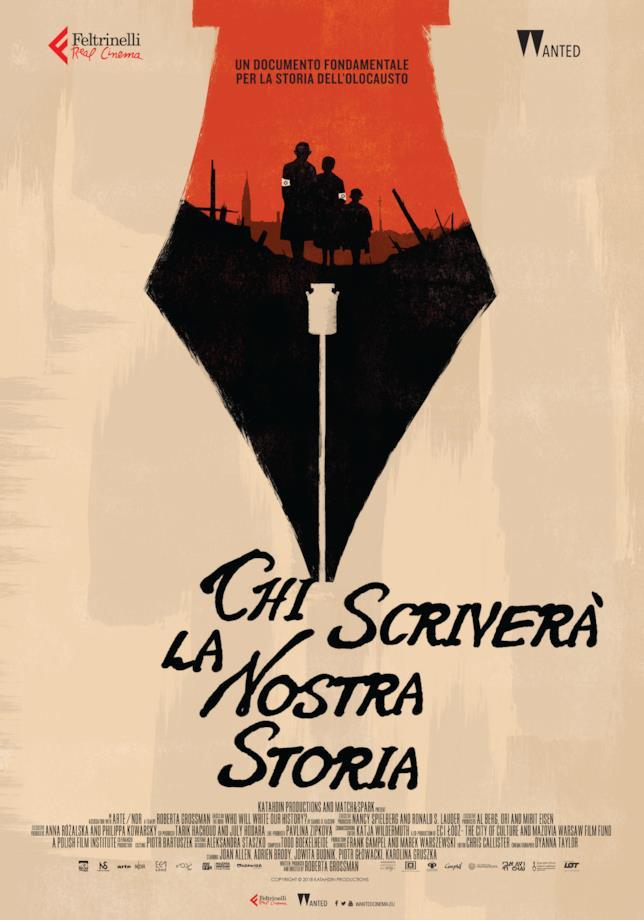 Il poster ufficiale del film Chi scriverà la nostra storia