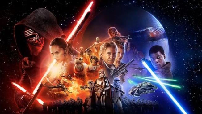 La locandina di Star Wars: episodio VII