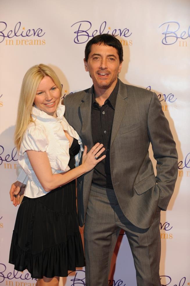 Scott Baio e la moglie