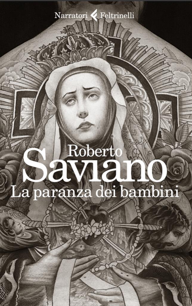 La copertina La paranza dei bambini di Saviano