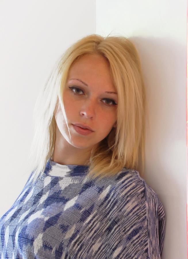 Valeria Stroukova in primo piano