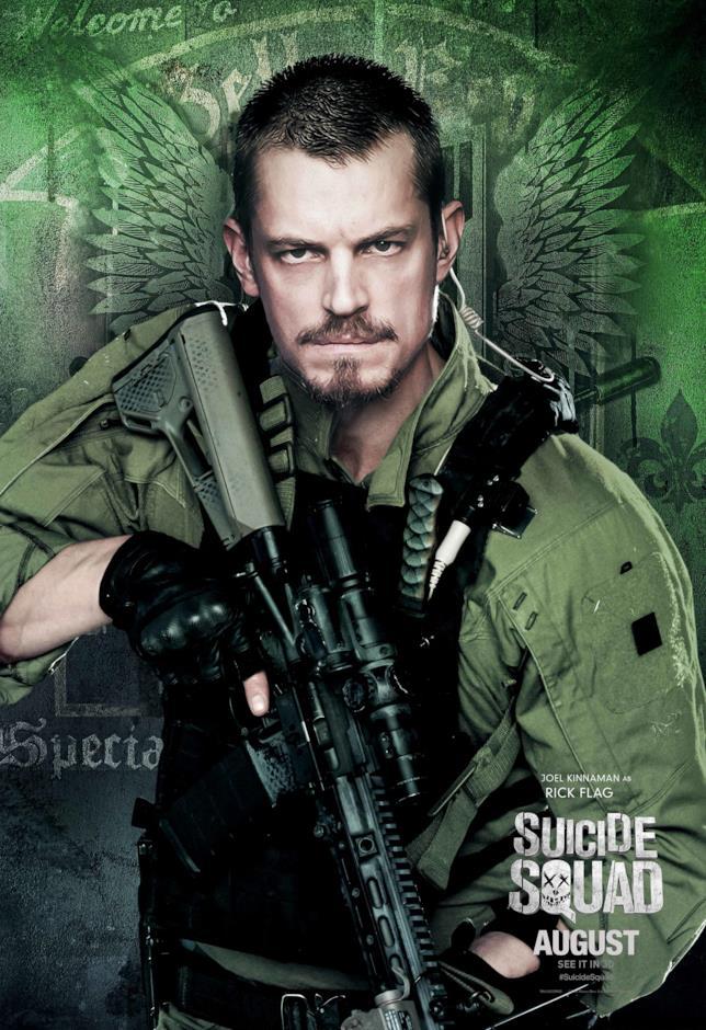 Suicide Squad il poster di