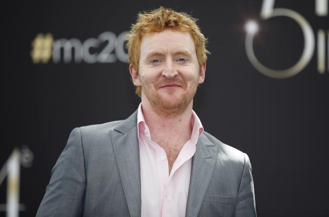 Un sorridente Tony Curran al Monaco TV Festival