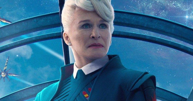 Glenn Close è Nova Prime nel poster dei Guardiani della Galassia