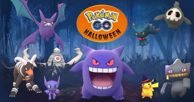 Halloween 2017 in Pokémon GO