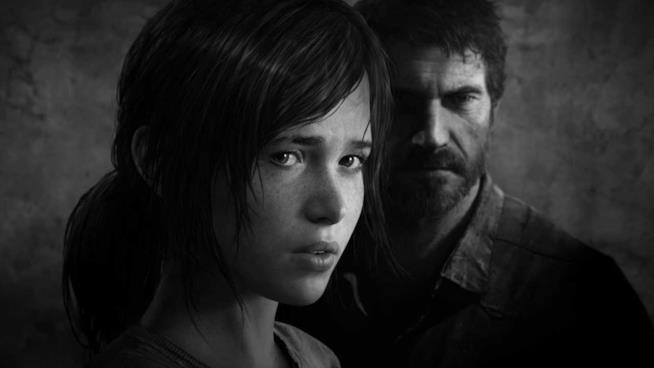 Un ritratto di Joel e Ellie, protagonisti di The Last of Us