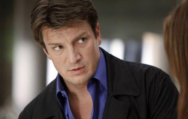 Castle, l'attore Nathan Fillion