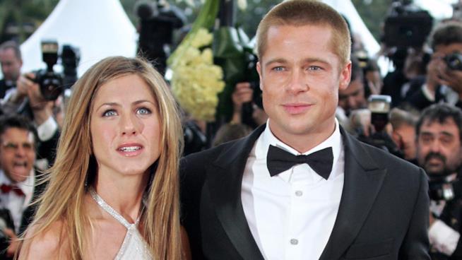 Jennifer Aniston e Brad Pitt al tempo del loro amore
