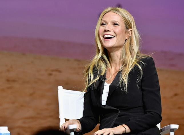 Un sorridente primo piano di Gwyneth Paltrow