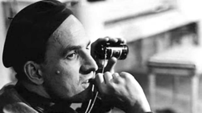 Foto d'epoca del regista Ingmar Bergman