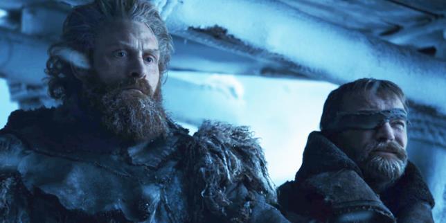Tormund e Beric nella stagione 7 di Game of Thrones