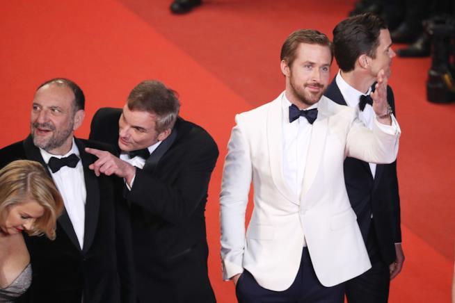 Ryan Gosling sul red carpet di Cannes